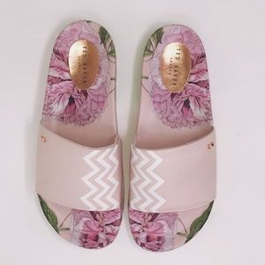 Ted Baker London Aveline Printed Slide Sz 9.5/10